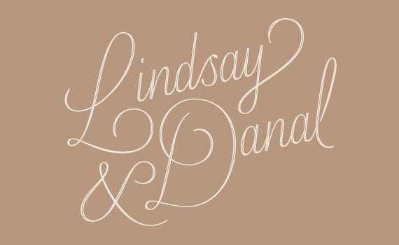 Lindsay & Dan's Wedding Invitations